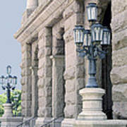Texas State Capitol North Portico Art Print