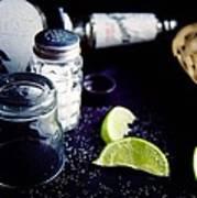Texas Tequila Slammer 02 Art Print