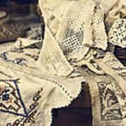 Textile Collection Art Print