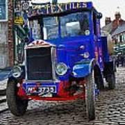 Textile Truck Colour Art Print