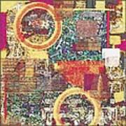Textural 210 Art Print