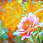 Textured Dahlia Perfection Art Print