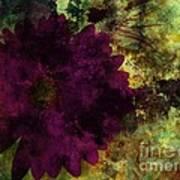Textured Flora Art Print by Ankeeta Bansal