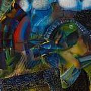 Textured Landscape 2 Art Print