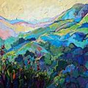 Textured Light Print by Erin Hanson