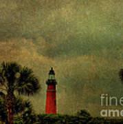 Textured Lighthouse Art Print