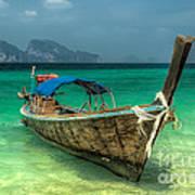 Thai Boat  Art Print