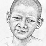 Thai Boy Art Print