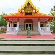 Thai Buddhist Temple I Art Print