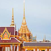 Thai Construction Design. Art Print