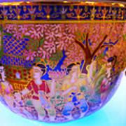 Thai Design Ceramics Art Print