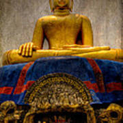 Thai Golden Buddha Art Print