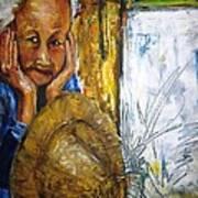 Thai Woman Art Print by Doris Cohen