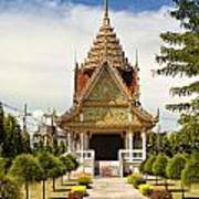 Thailand Temple Art Print