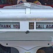 Thank-you Call Again Art Print