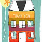 Thank You Card Art Print