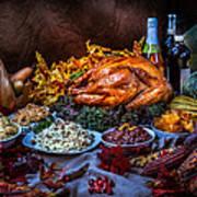 Thanksgiving Dinner Art Print