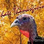 Thanksgiving Fun Art Print