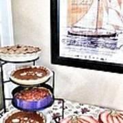 Thanksgiving Pies Art Print