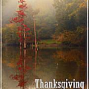 Thanksgiving Reflections Art Print
