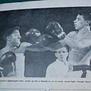 That Me Fighting Erving Nard In 1954 Art Print