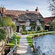 Thatched Cottage Thornton Le Dale Art Print
