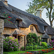 Thatched Roof - Cotswolds Art Print