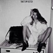 That's My #bitch #katemoss #icon Art Print