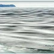 Thawing Lake Art Print