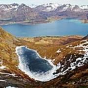 Thawing Spring Fjordland Vista Art Print
