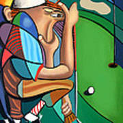 The 18th Hole Print by Anthony Falbo