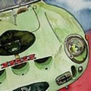 The 1962 Ferrari 250 Gto Was Built For Sir Stirling Moss Art Print