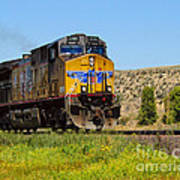 The 5789 Union Pacific Train Art Print