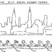 The 8:17 From Dobbs Ferry Art Print