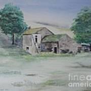 The Abandoned House Art Print