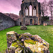 The Abbey  Art Print by Adrian Evans
