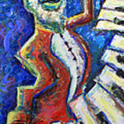 The Acid Jazz Jam Piano Art Print