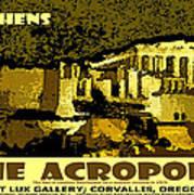 The Acropolis Athens Art Print