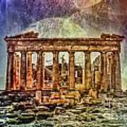 The Acropolis Of Athens Art Print