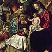 The Adoration Of The Magi, 1620 Oil On Canvas Art Print