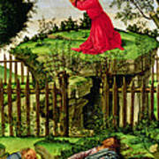 The Agony In The Garden, C.1500 Oil On Canvas Art Print