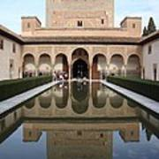 The Alhambra Palace Reflecting Pool 2 Art Print