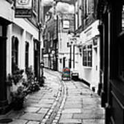 The Alley Art Print