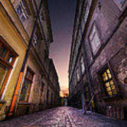 The Alley Of Cracov Art Print