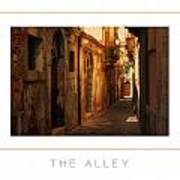 The Alley Poster Art Print