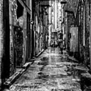 The Alleyway In Market Square - Knoxville Tennesse Art Print