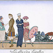 The Allies In Versailles Art Print
