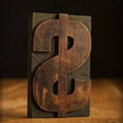 The Almighty Dollar Print by Edward Fielding