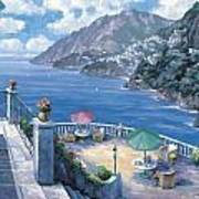 The Amalfi Coast Art Print by John Zaccheo