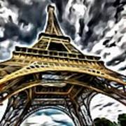 The Amazing Eiffel Art Print